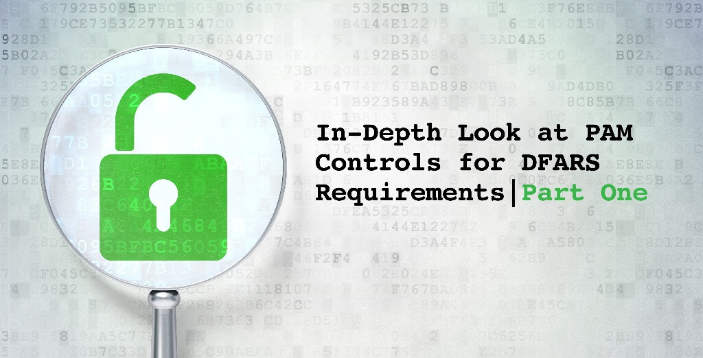 Part One: In-Depth Look at PAM Controls for DFARS Requirements
