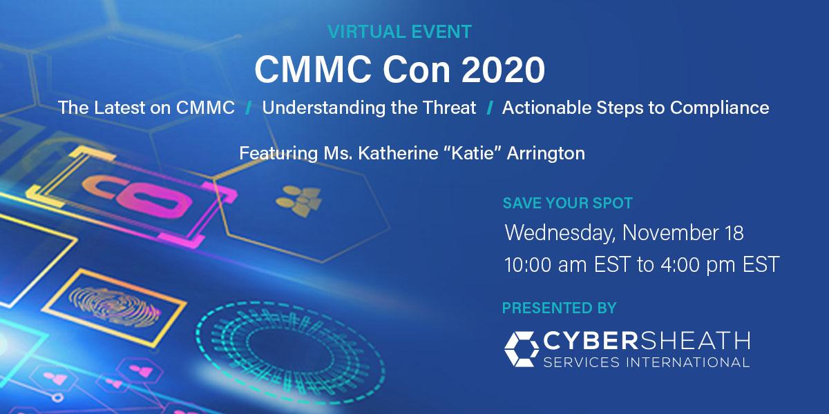 CyberSheath's CMMC Con 2020 Opens Registration to Defense Industrial Base